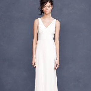 New. J. Crew Sophia Ivory Wedding Dress
